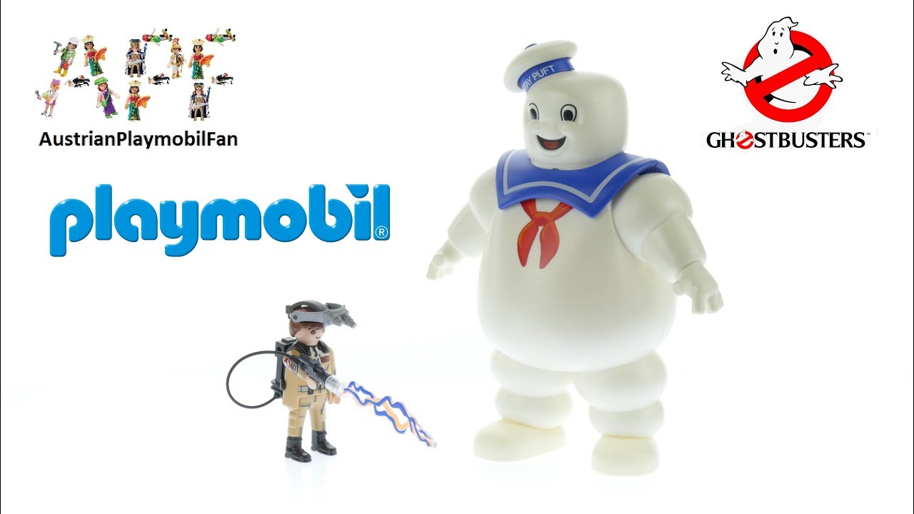Playmobil Ghostbusters Stay Puft Marshmallow Man-Ghostbusters 9221