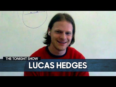 Lucas Hedges on The Tonight Show Starring Jimmy Fallon