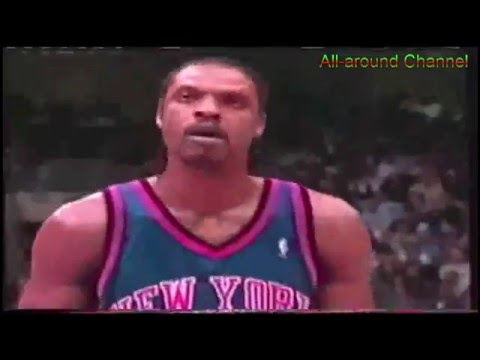 Some Latrell Sprewell, Allan Houston & Glen Rice highlights @Spurs 00/01 + Top 10 Plays