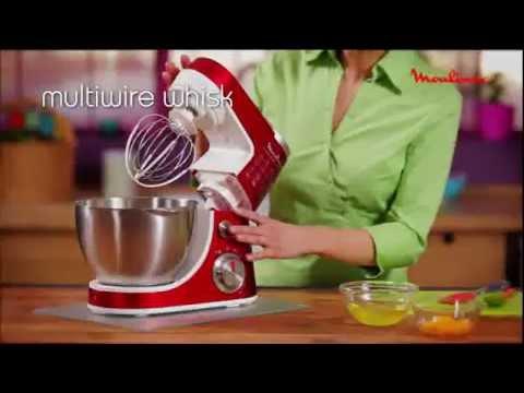 moulinex kitchen machine - masterchef gourmet - youtube