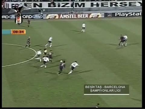 Beşiktaş 3 - Barcelona 0 (19.9.2000) - 10 DAKİKA ÖZET