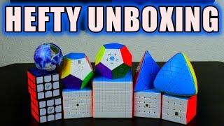MeiLong 11x11 + GAN Megaminx + More Unboxing!| Cubeorithms (SpeedCubeShop)
