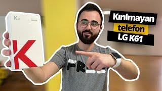 Kırılması Zor Yeni LG K61 kutudan çıktı!