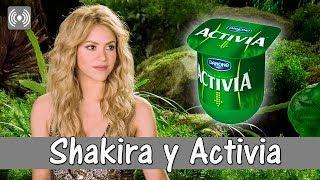 shakira y activia