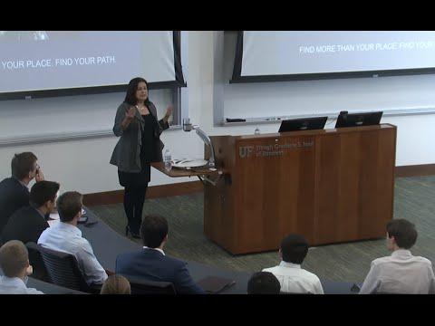 University of Florida Finance Professional Speaker Series, January 22, 2015, Mercedes Van Woerkom