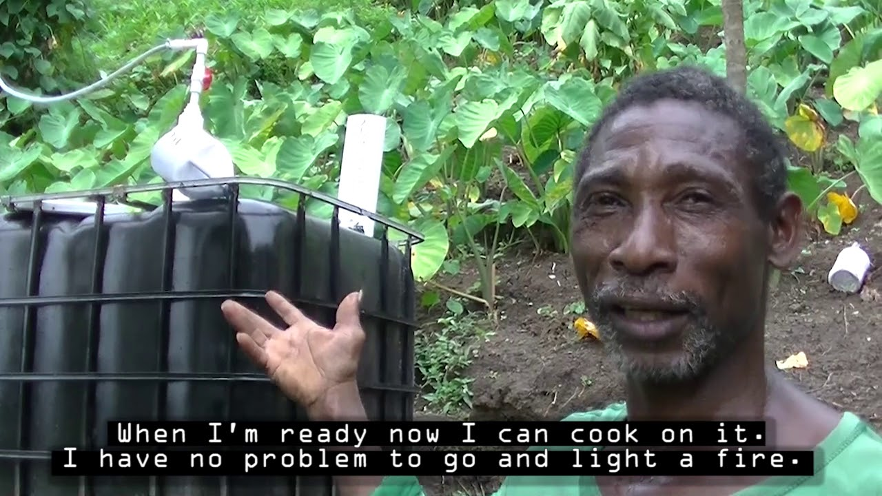 Biogas in St. Vincent and the Grenadines