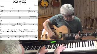 Knock On Wood - R&B guitar & piano cover - Yvan Jacques