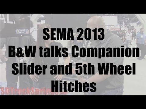 Bw Trailer Hitches Talks Companion Slider And 5th Wheel Hitch Sd