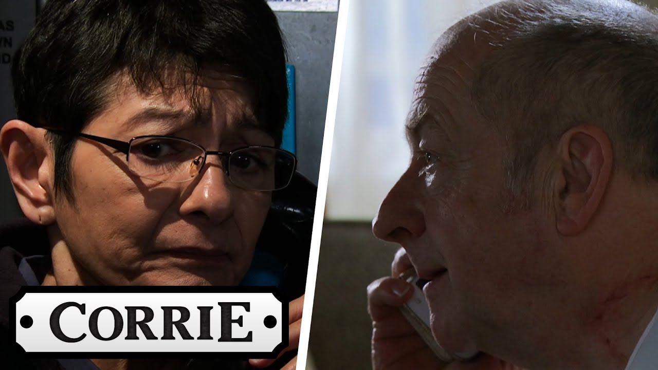 Geoff Secretly Phones Yasmeen in Prison | Coronation Street