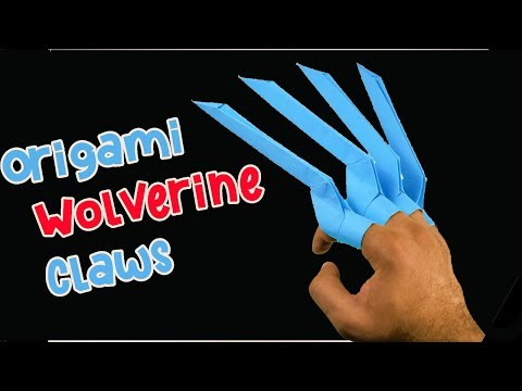 Wolverine Claws Out of Paper : 5 Steps (with Pictures) - Instructables | 360x480