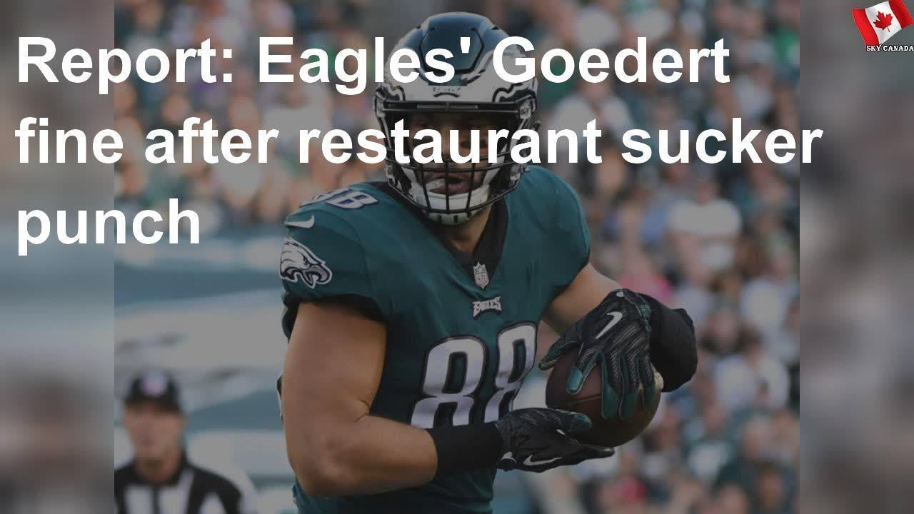 Report: Eagles' Dallas Goedert sucker punched at restaurant during ...