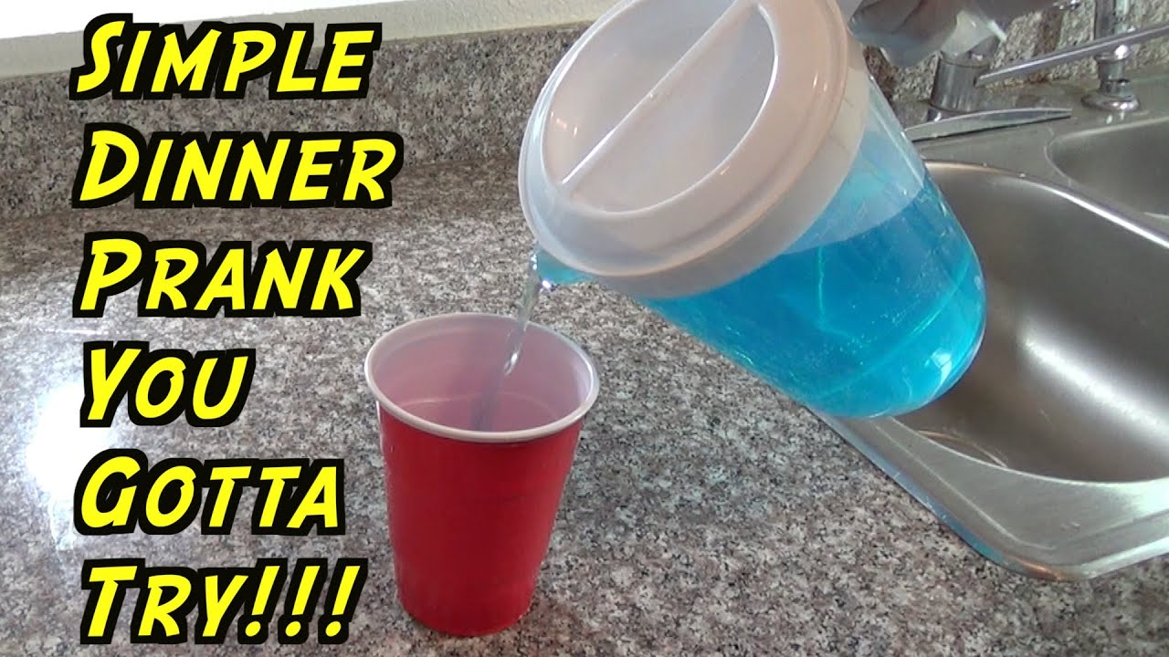 Simple Kitchen Pranks prank you gotta try at dinner - how to prank (evil booby traps