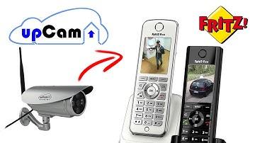 AVM Fritz Fon Livebild mit IP Kamera einrichten - Für Fritz!Fon C4 und C5