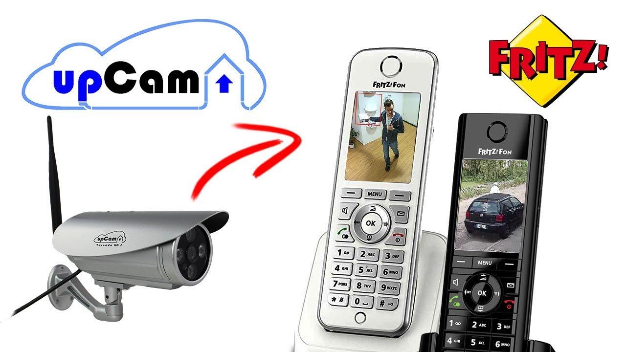 AVM Fritz Fon Livebild mit IP Kamera einrichten - Für