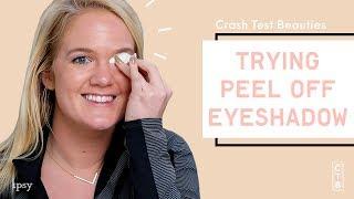 We Tried Press On Eyeshadow | Crash Test Beauties