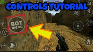 How to Add Bots and Configure Controls   CS 1.6 Android Tutorial