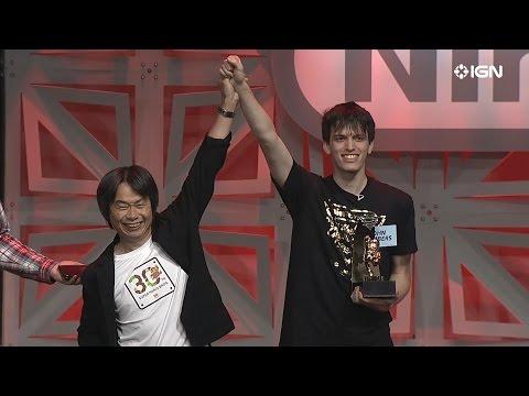 Shigeru Miyamoto Appears at the Nintendo World Championships 2015 Finals