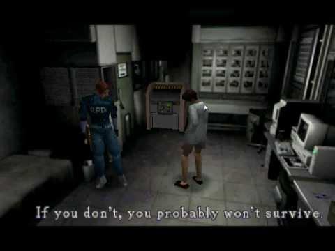 Resident Evil 1.5 Leon Office Dub