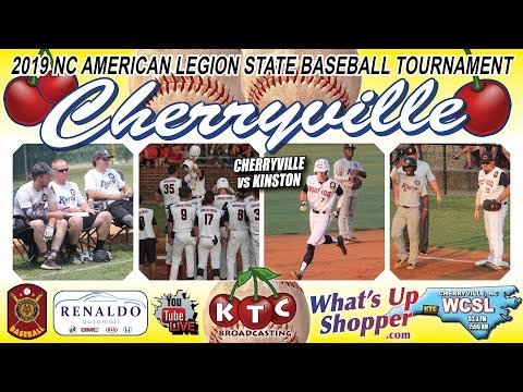 Cherryville Wins 10-1 Vs Kinston - 2019 NC American Legion State Baseball Tournament