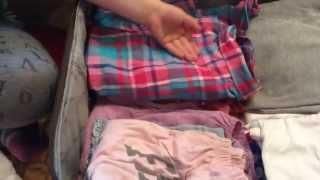 Упаковка чемодана в отпуск(Это моё первое видео., 2015-08-08T16:43:42.000Z)