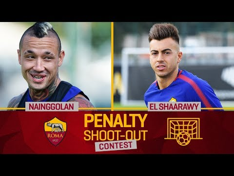AS Roma Penalty Contest: Nainggolan v. El Shaarawy (Semi-final 2)