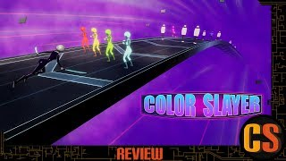 COLOR SLAYER - PS4 REVIEW (Video Game Video Review)