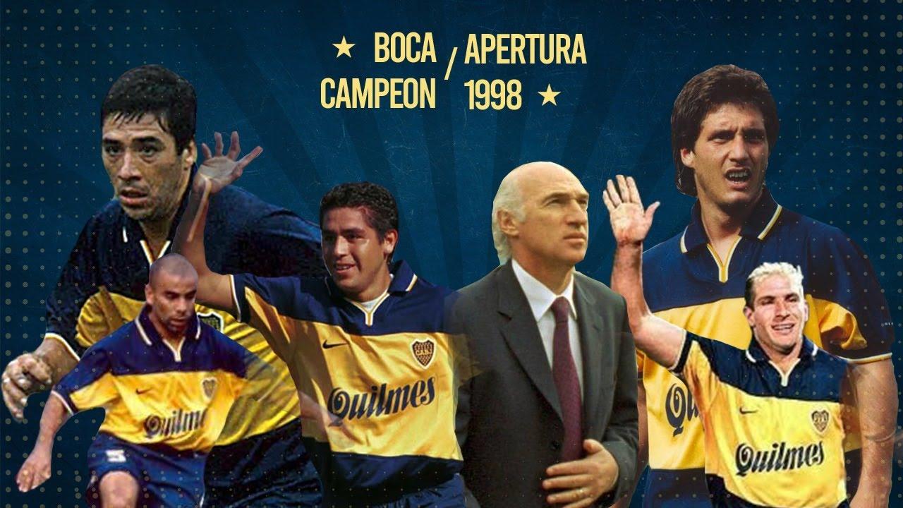 Boca Campeón Apertura 1998 | Todos los Goles por Walter Saavedra (La Oral Deportiva)