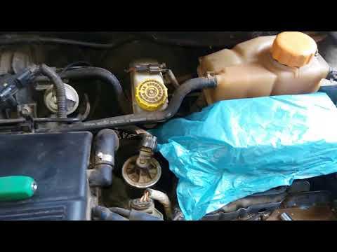 Chevrolet Aveo растет температура вентилятор работает одна из причин перегрева.