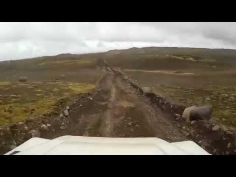 Driving Around Iceland - Day 3 - Kirkjubæjarklaustur to Laki (F206, F207, Highlands)