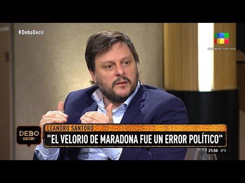 Leandro Santoro enfrenta a Luis Brandoni y sus acciones