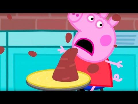 Свинка Пеппа на русском все серии подряд | Пеппа делает чашку | Мультики