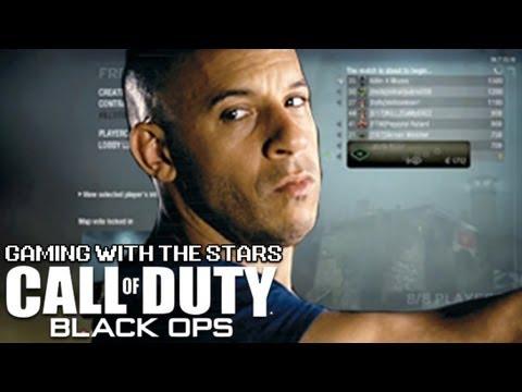Gaming with the Stars - Vin Diesel Plays Black Ops - Soundboard Trolling