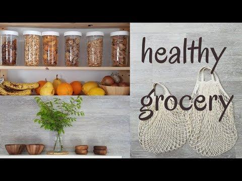 HEALTHY GROCERY HAUL Organic Gluten Free Dairy Free