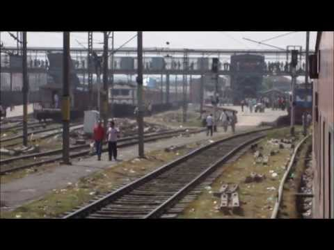 Sealdah Rajdhani Blast: Kanpur - New Delhi High Speed Compilation