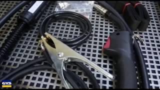 POSTE A SOUDER MIG SEMI AUTOMATIQUE 160A 220V vidéo