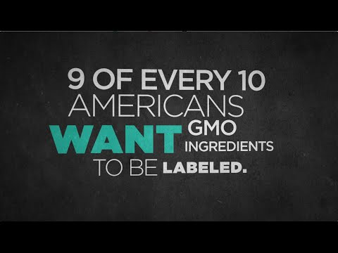 Thank You For Labeling GMOs!