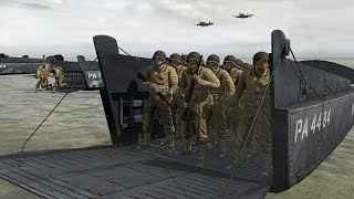 D-Day - Omaha Beach ! Hard Beach Assault in Realistic Shooter Game Iron Front 1944