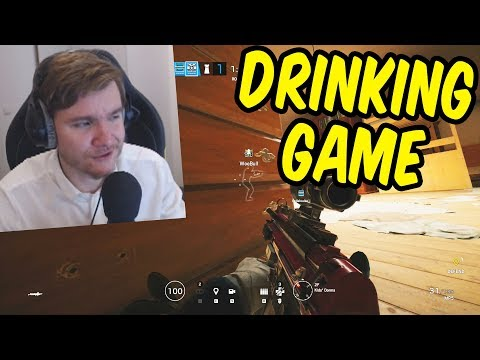The Rainbow Six Siege Drinking Game Stream