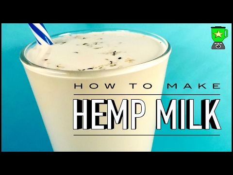 How to Make Hemp Seed Milk