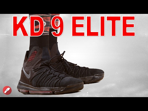 pretty nice 65c73 439f2 Kevin Durant Wears the KD 9 Elite?!