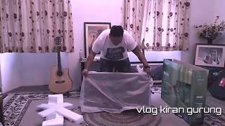 UNBOXING MY 2ND TIME 42 INCH HAIER SLIM TV 60,000 RS PROMOTING MY FRIENDS BUSINESS