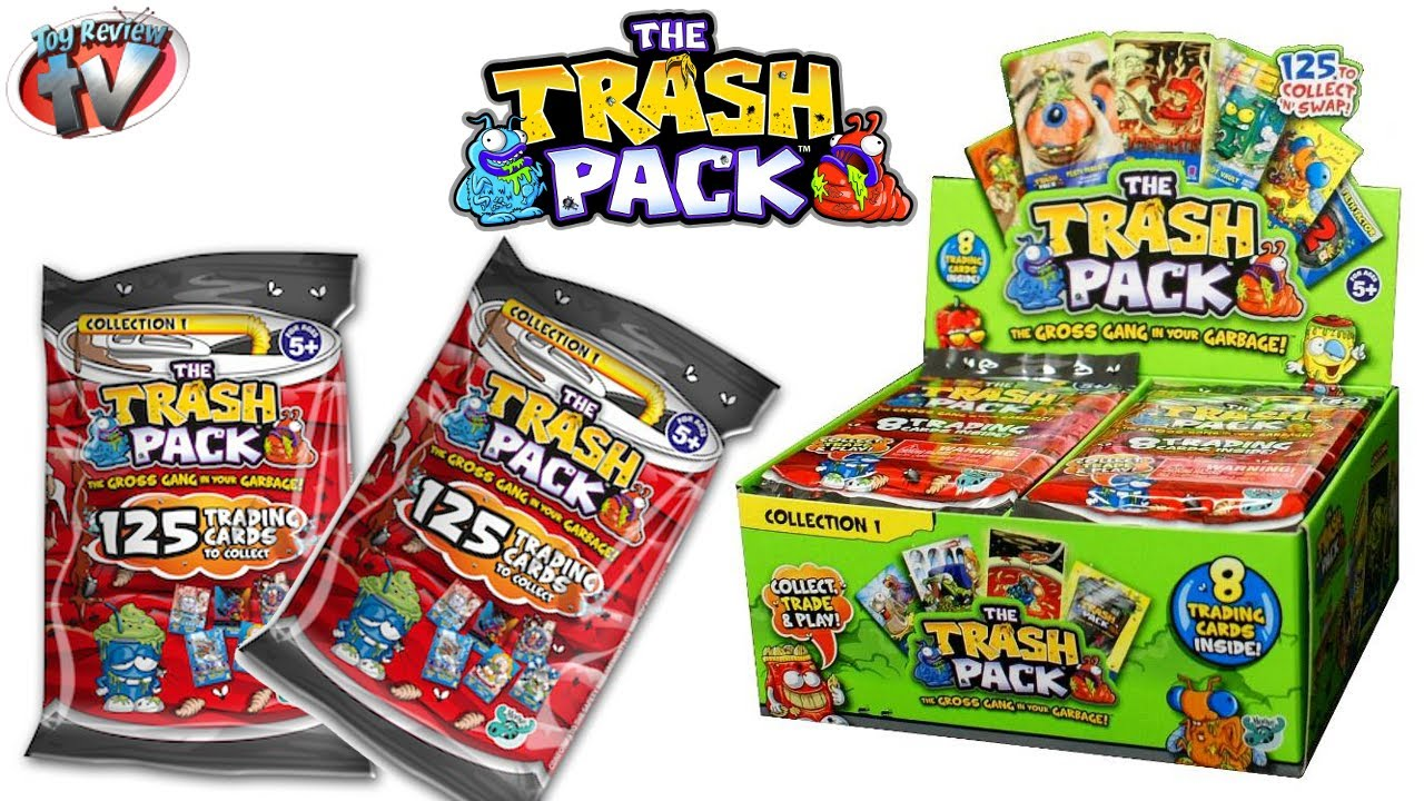The Trash Pack Trading Cards Toy Review  Pack Opening Giro Max