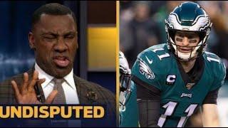 "UNDISPUTED | Shannon ""on fire"" Eagles vs Bengals Week 3: Carson Wentz will crush Joe Burrow"