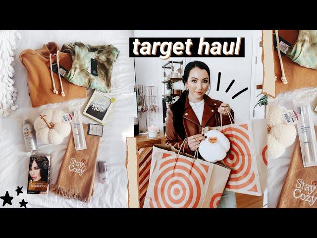 TARGET FALL HAUL 2020 // essentials, fall decor, clothing, hair dye I use!