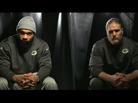 Clay Matthews and Julius Peppers Green Bay Packers