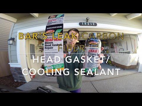 Repeat Bar's Leak HG-1 (carbon fiber sealant) by Edlin