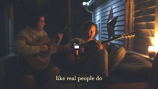 Like Real People Do (Hozier cover) on the porch at night