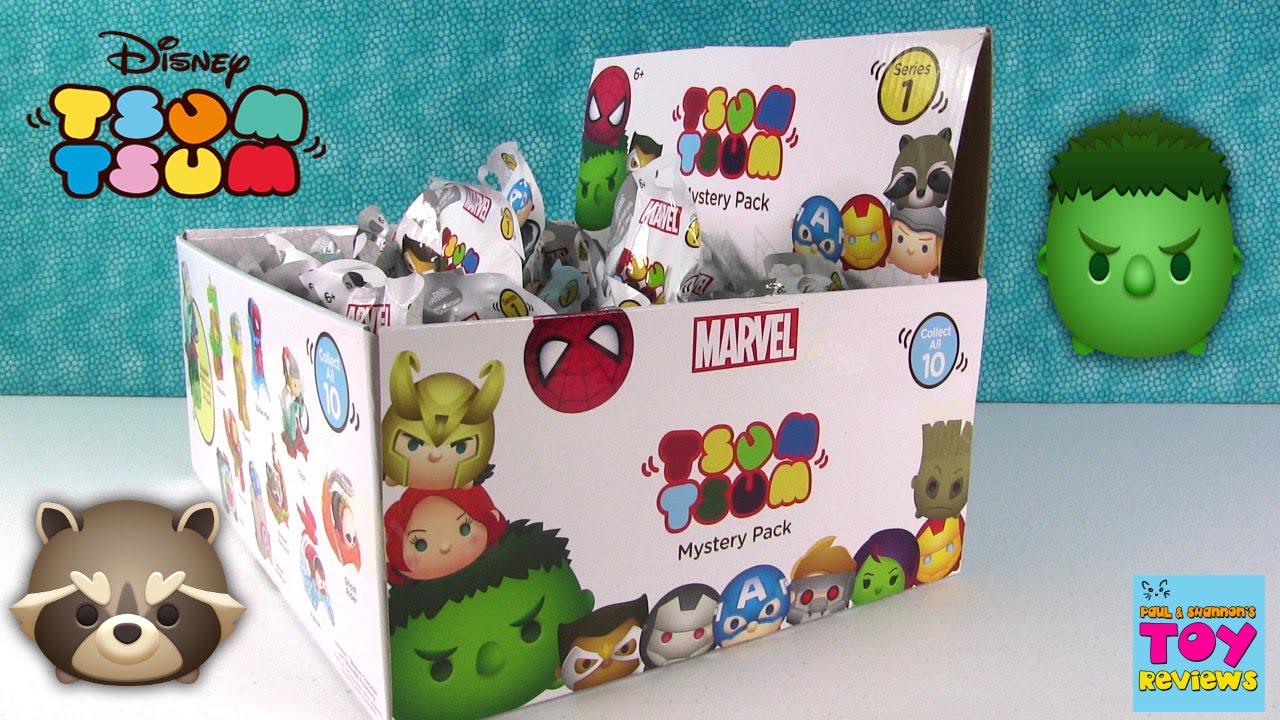 Disney Marvel Tsum Tsum Series 1 Full Box Collection Blind