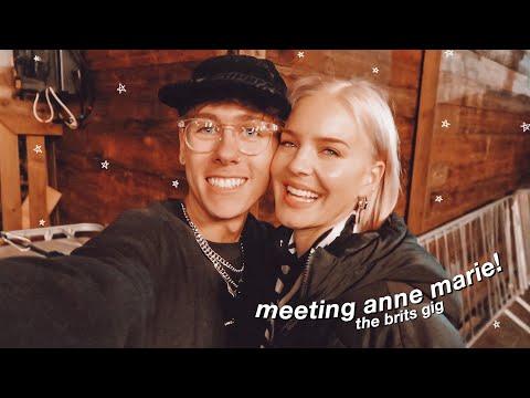 we met anne marie and now I stan (brits week vlog)