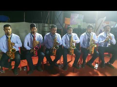 4th prize Majhe Aaiche Palkhila ( Preet bandre )   Aai ekvira brass band pathak at Trombay koli fest